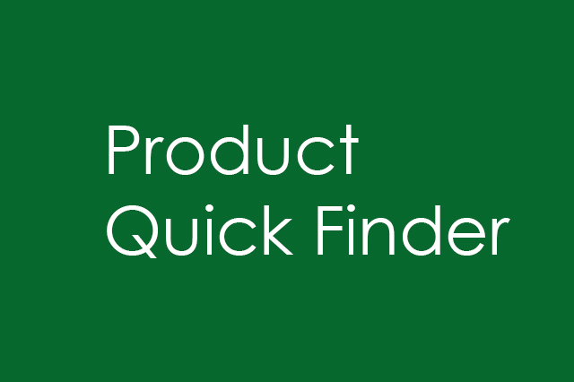 Product QuickFinder example, developed by Randi Alterman's GE team