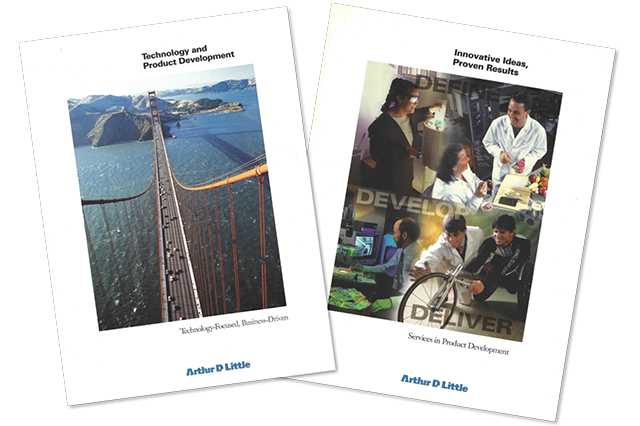 Marketing programs for Arthur D. Little's Technology and Product Development division