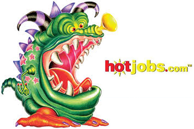 Monster.com and hotjobs.com logos