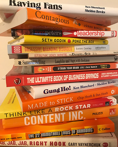 Books from Randi Alterman's marketing library